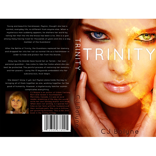 Urban Fantasy Book Cover Design for Book 1 of Trilogy