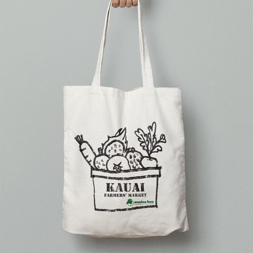 Bag design for Farmers' Market