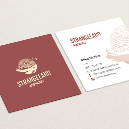 awesome squared business cards