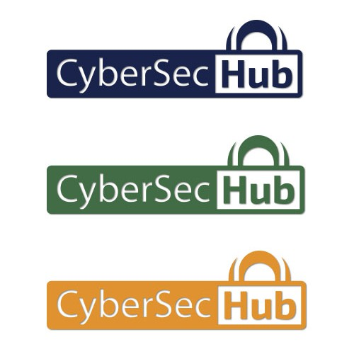 Create a clear and capturing logo for an innovative cyber security company - Cyber Security Hub