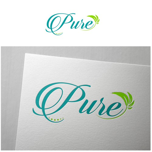 """Canna Health needs a strong new logo for their ""Pure"" cannabis product line"