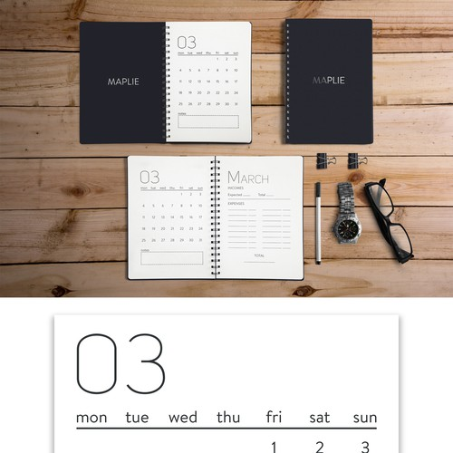 Minimal Notebook Page System