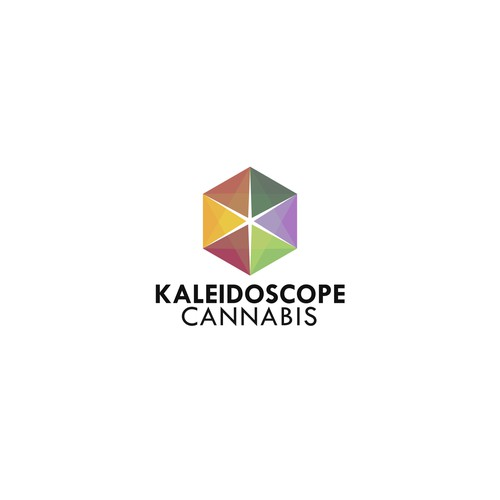 Kaleidoscope Cannabis | Logo design