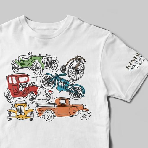 Auto Museum Kid T-shirt