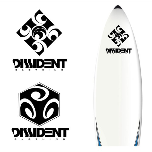 Create the next logo for DISSIDENT Clothing