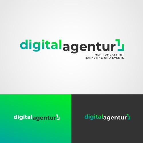 modernes Logodesign für eine Werbeagentur!