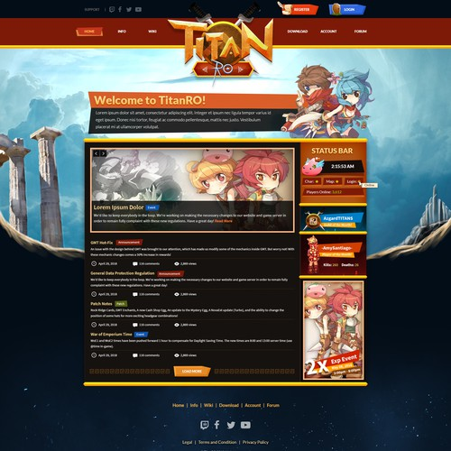 Titan Ro Website