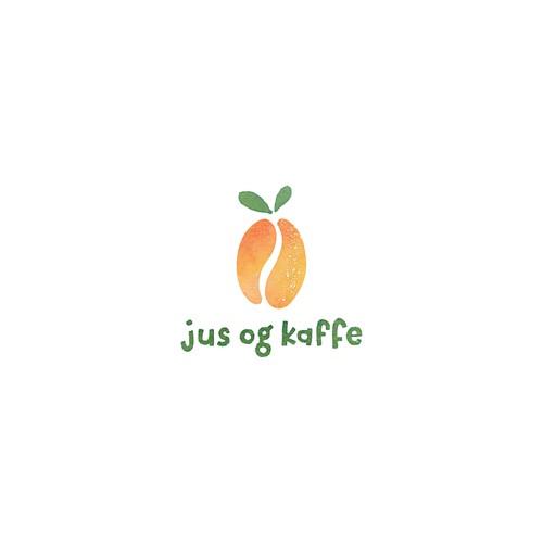 Juice & coffee bar logo design