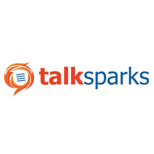 Create the new logo for TalkSparks!