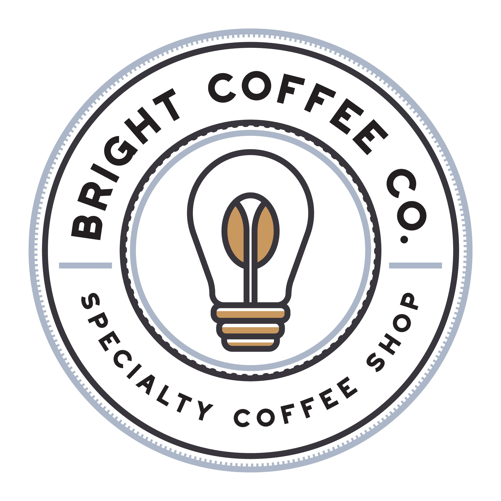 Clean and expressive logo for a welcoming and sophisticated coffee shop