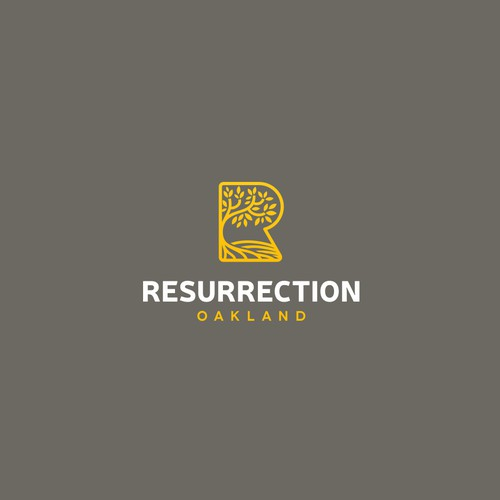 Logo for Resurrection Oakland