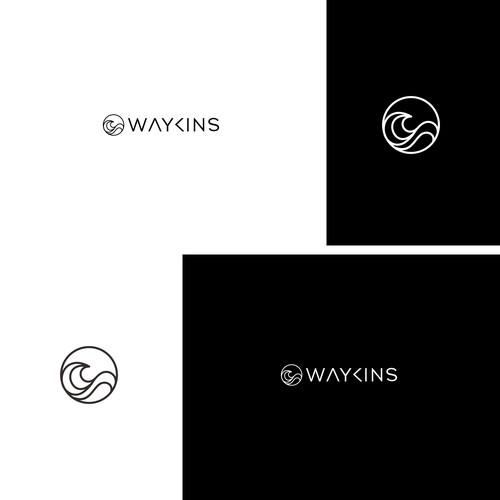WAYKINS logo design