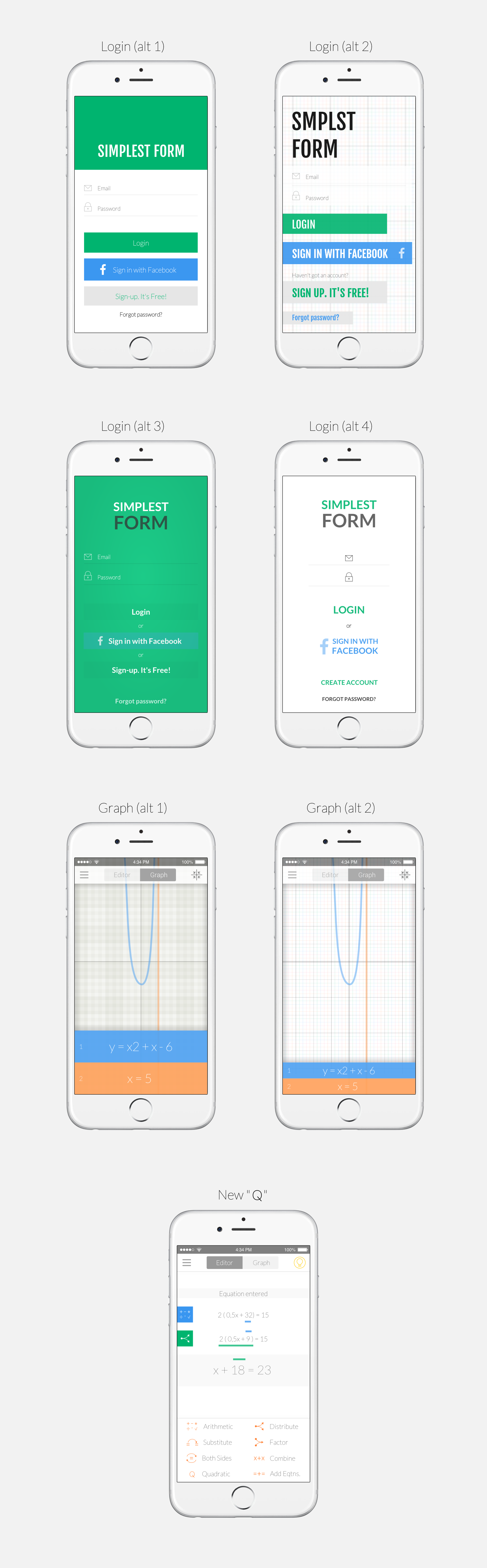 Guaranteed: An equation editor to help high school students solve math problems