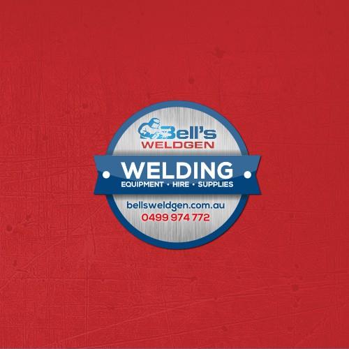 Bell's Welding Sticker Design