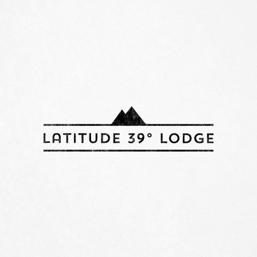 Latitude 39 Lodge & Brewery - Logotype design