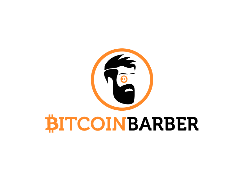 Create a fun yet trustworthy logo for Bitcoin Barber