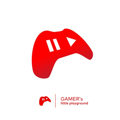 logo for youtube channel about game movies
