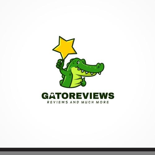 """Logo for """"Gatoreviews""""."""