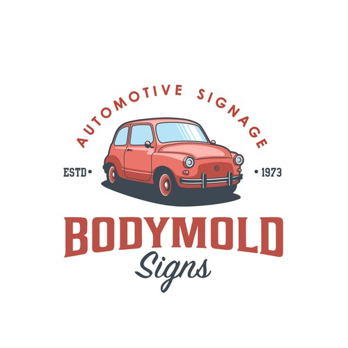 Logo for Bodymold signs