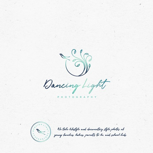 Logo design for Dancing Light Photography