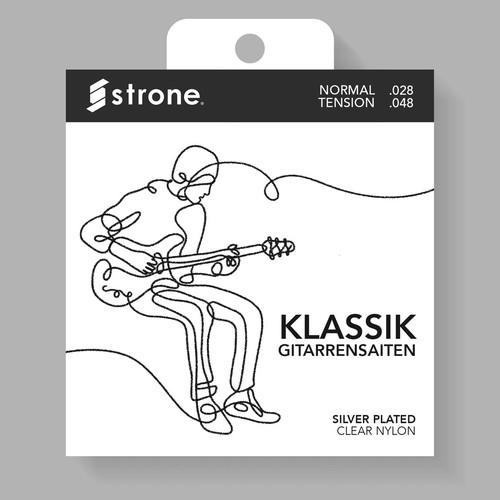 Guitar String Minimalist Packaging