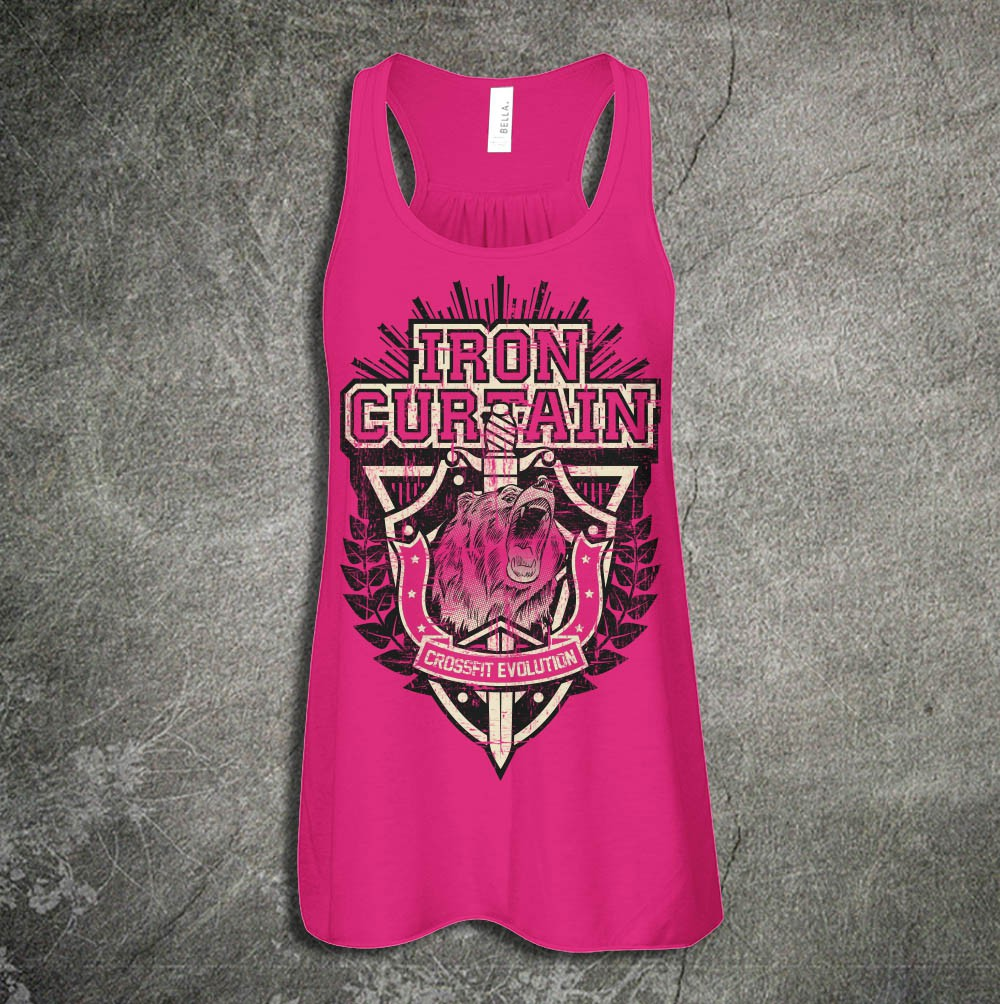 """""""Iron Curtain VI"""" CrossFit Competition T-shirt"""