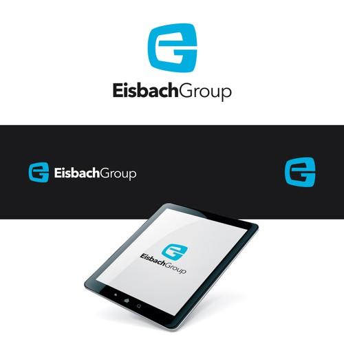 Eisbach Group logo design entry