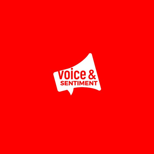 Bold logo for Voice & Sentiment