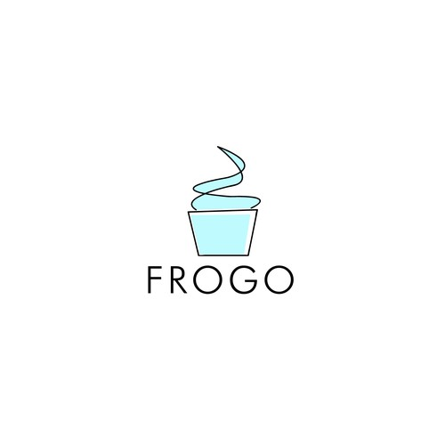 Logo for One-of-a-Kind Frozen Yogurt Truck in California