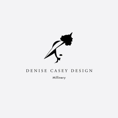Logo concept for millinery