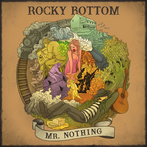 Album Cover Rocky Bottom Mr. Nothing