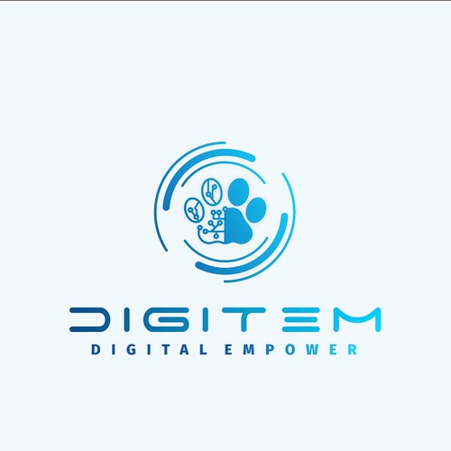 Digitem - Digital Empower - Visual Identity