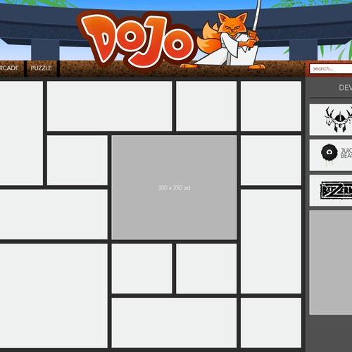 Casual gaming portal seeks fun, modern, and engaging web design [Dojo.com]
