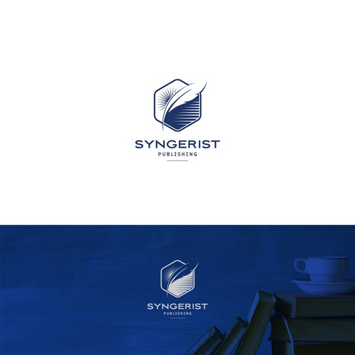 Classic, Elegant yet  modern logo for publishing company