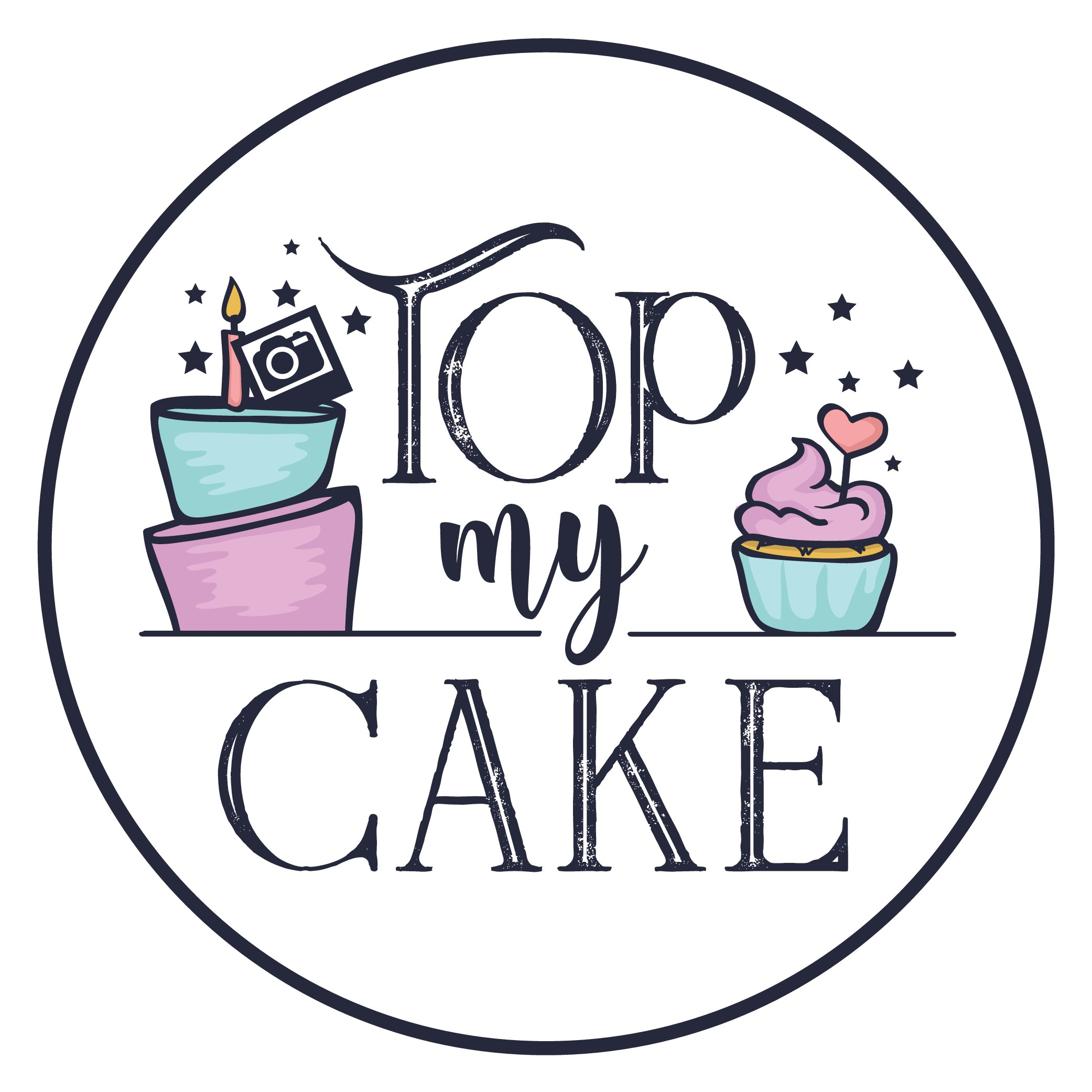 Design a bright & fun logo for a cake topper business