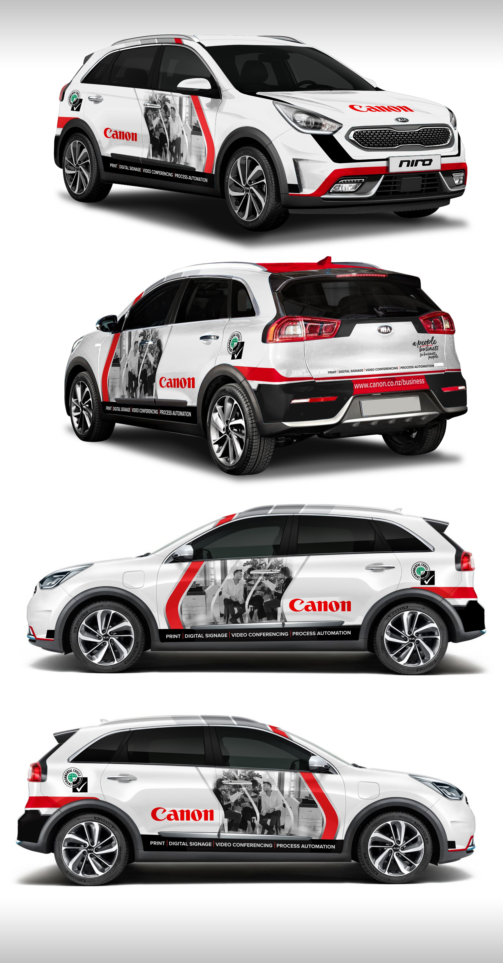 Canon Business Solutions Car Branding