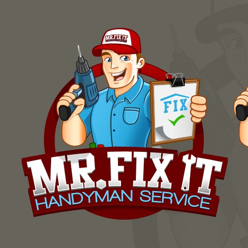 Create the next logo for Mr. Fix It Handyman Services