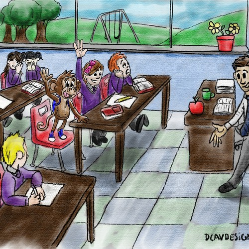 Monkey In the Classroom