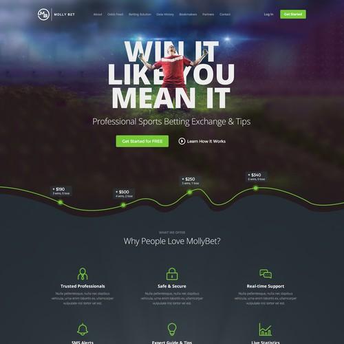 Web Design for Molly Bet