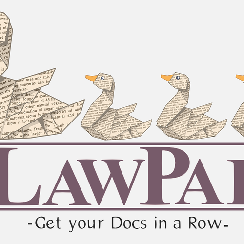 "Help lawyers get their ""docs"" in a row (who doesn't want to draw cute ducks?)"