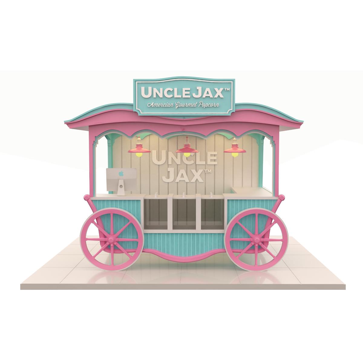 Popcorn Kiosks for Amusement Parks