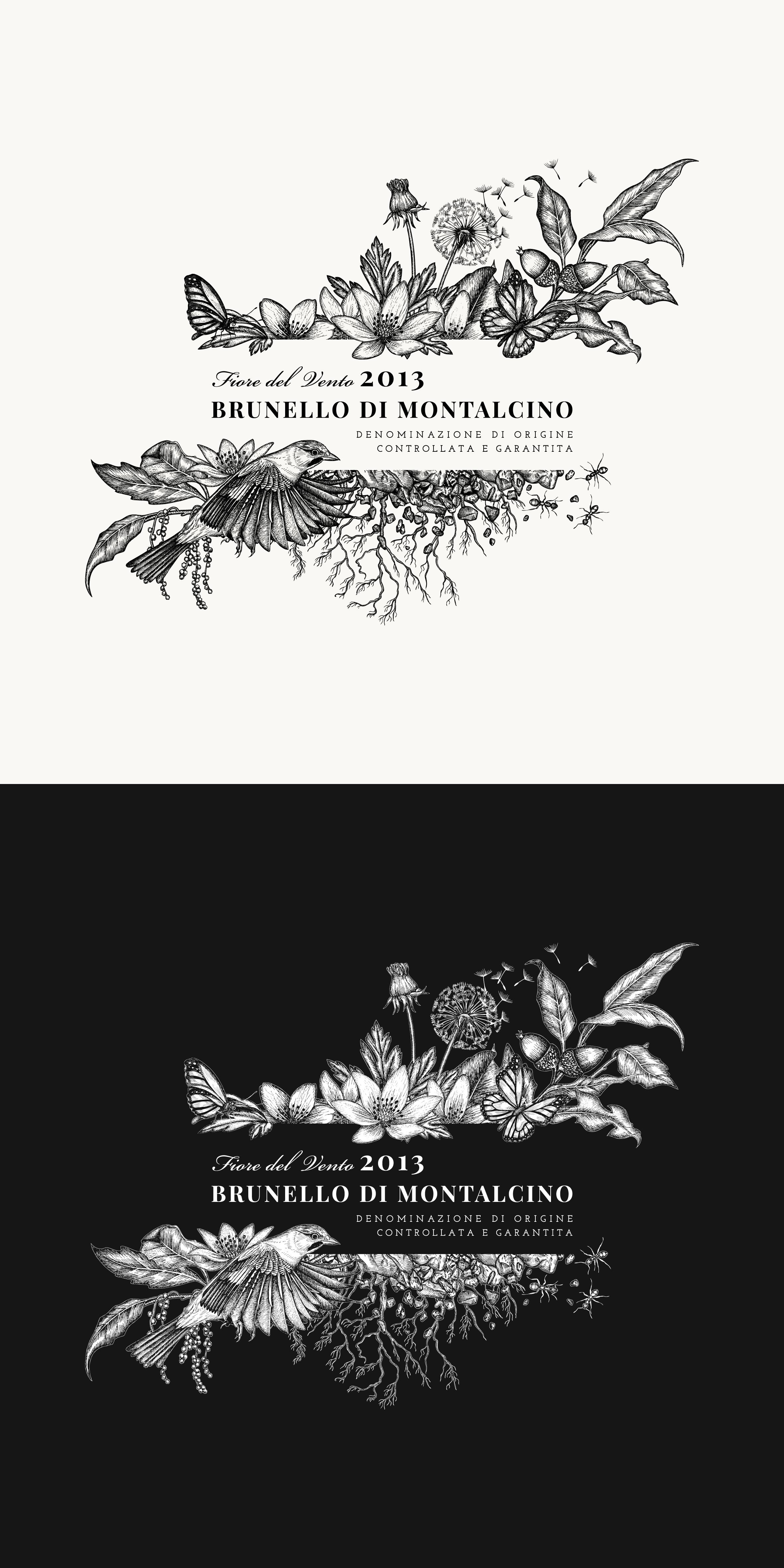 Corte Pavone - Brunello di Montalcino 2013 - Fiore del Vento