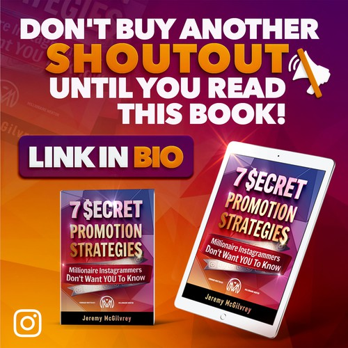 Intagram Ad for a Book