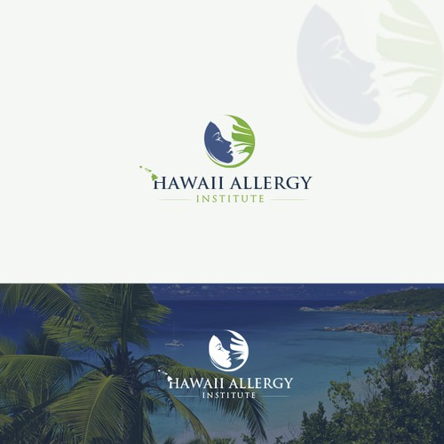 Create a professional logo for Hawaii Allergy Institute