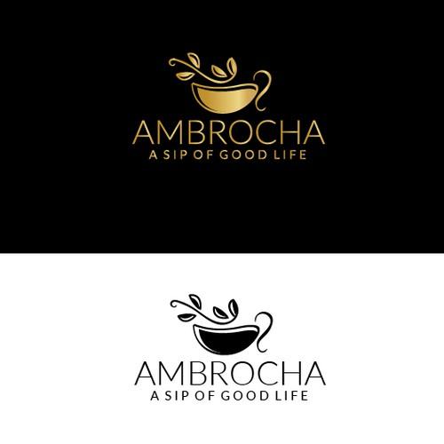 Ambrocha Tea Logo