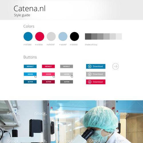 Create modern website for high-tech chip design firm