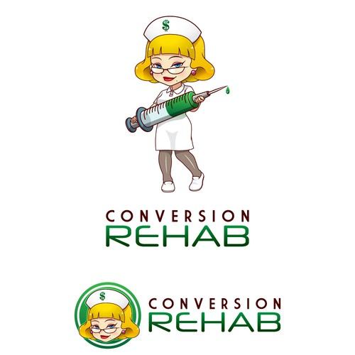 Conversion logo mascot