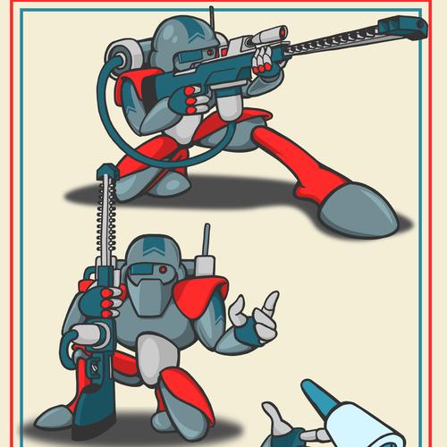 Cyber warfare soldier