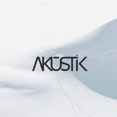 Akūstik logo design proposition