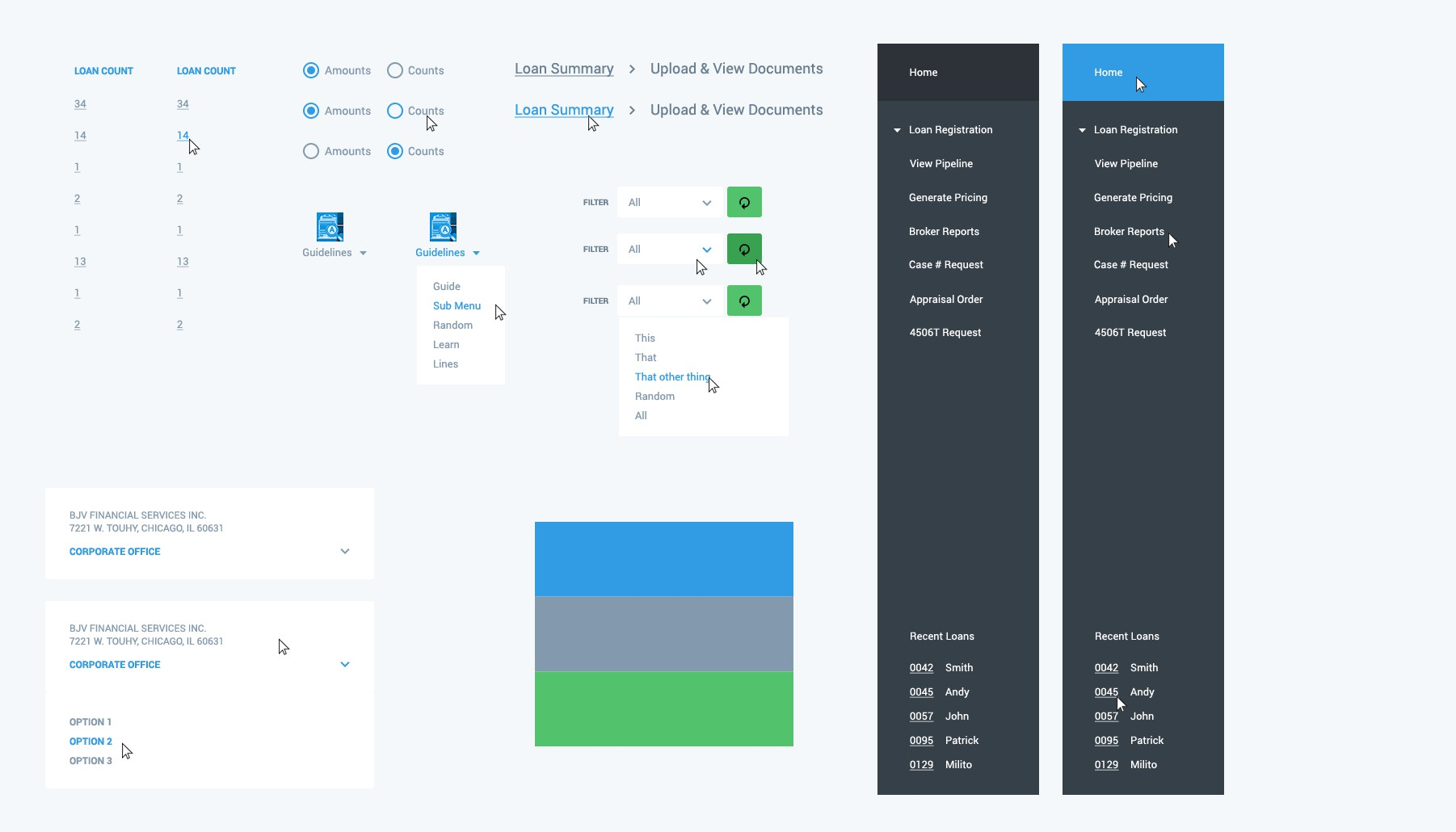 Create Flat & Minimal Web Design for web application